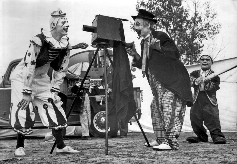 Circus Clowns: 1947