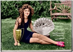 Ruth Malcolmson (Colorized): 1924