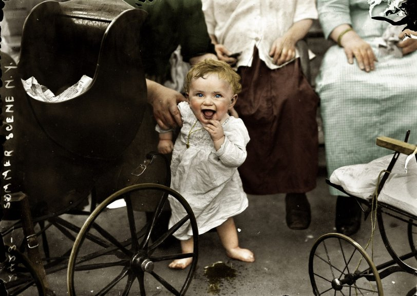 Too Much Excitement (Colorized): 1913