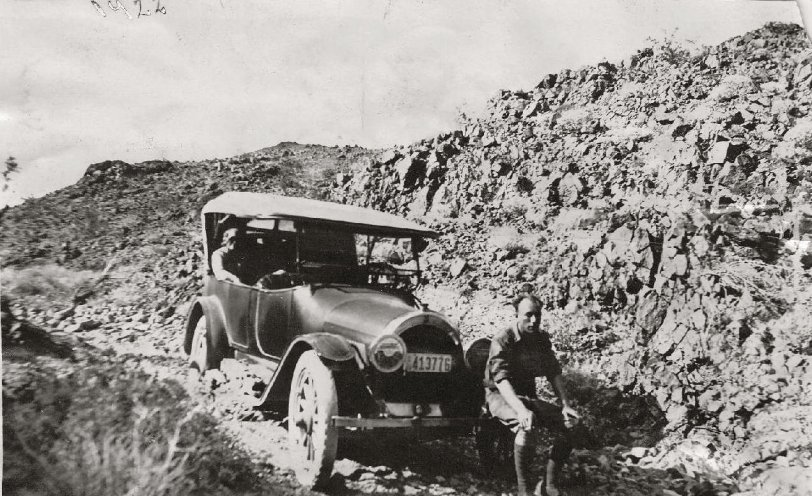 In the Desert: 1922