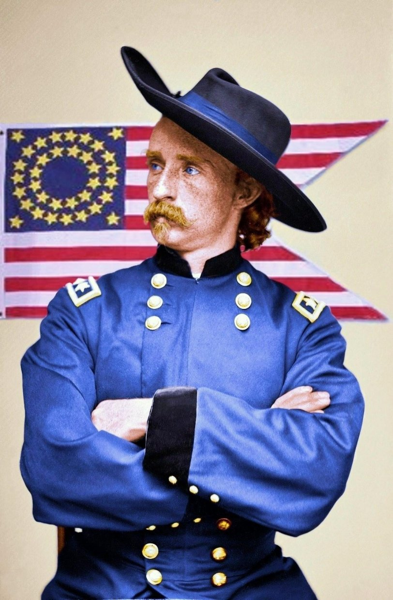 Custer (colorized):1865