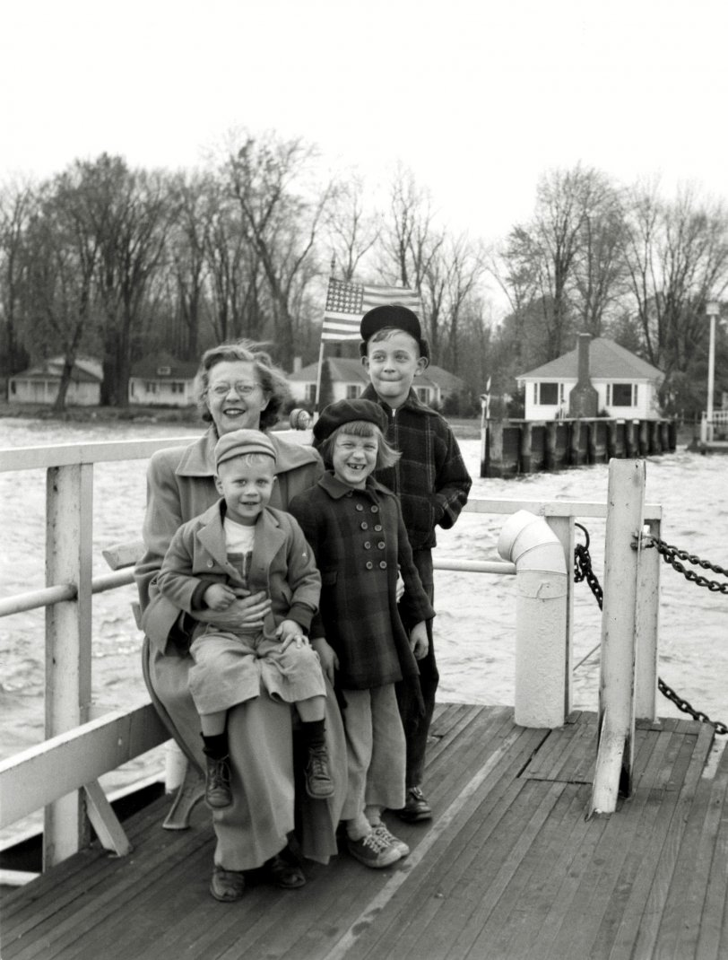 Let's Take the Ferry: 1951
