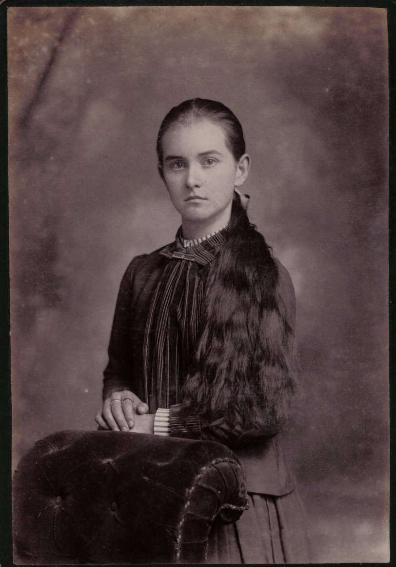 May Parker c. 1890, St Joseph Missouri