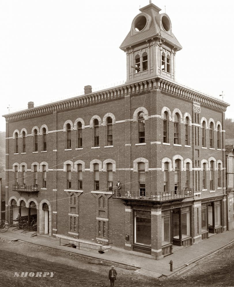 Deadwood City Hall: 1890