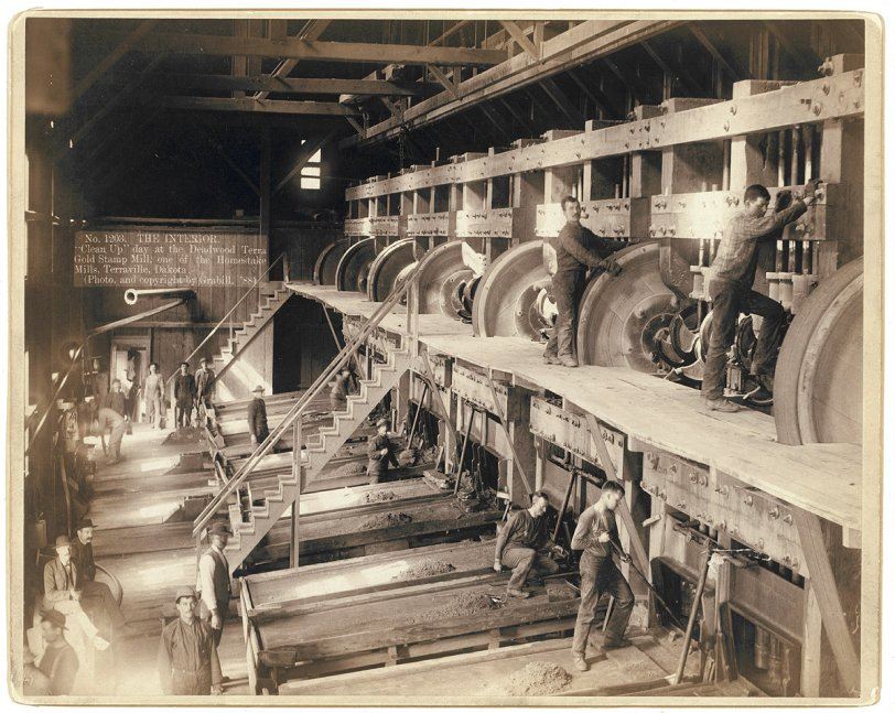 Deadwood Stamp Mill: 1888