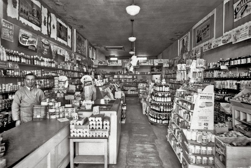 When the Grocery Looked Like That: 1947