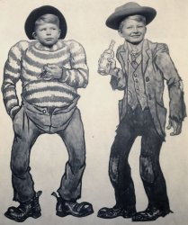 Rough Cowboy Brothers: 1951