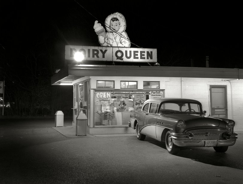dairy queen 1977 shorpy vintage photography