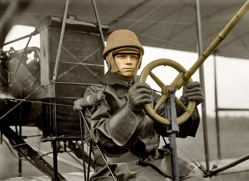 Flyboy 1912 (Colorized)