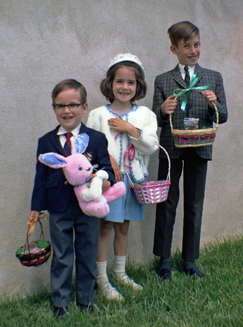 Easter Baskets: 1970