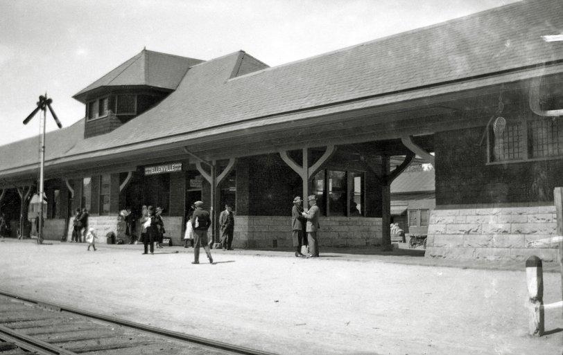 A Stop at Ellenville