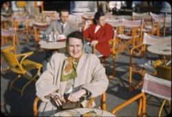 Smoking in Venice: 1950