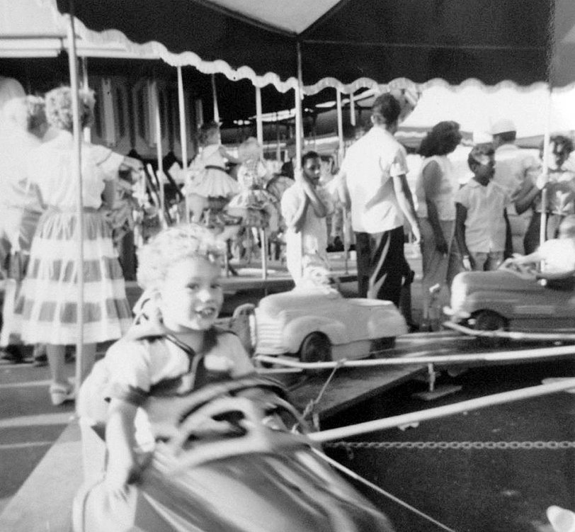 At the County Fair: 1955
