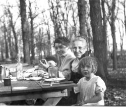 My family in Clear Lake, Iowa, circa 1914