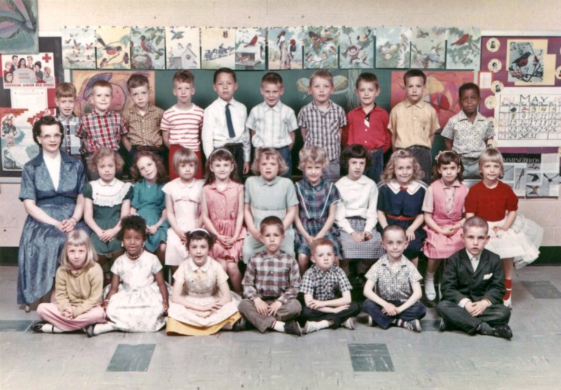 James Buchanan Elementary: 1961