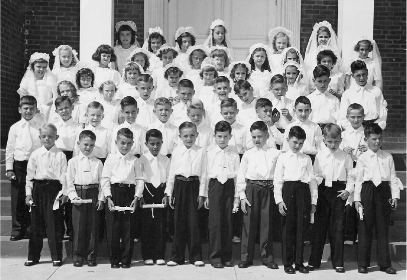 First Holy Communion - 1948