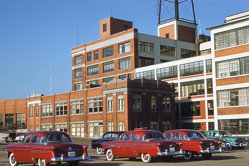 Ford Factory: 1954
