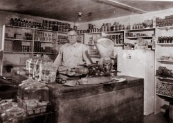 A Country Store in Mississippi: c. 1930s