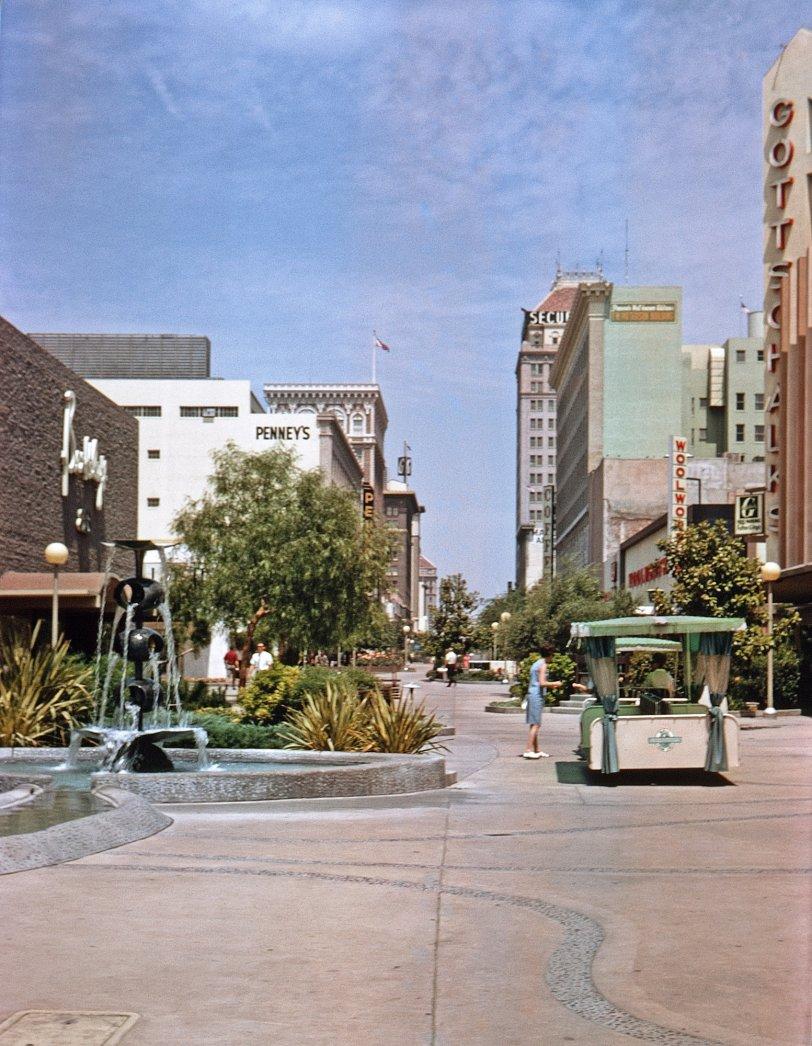 Fresno Fulton Mall: 1967