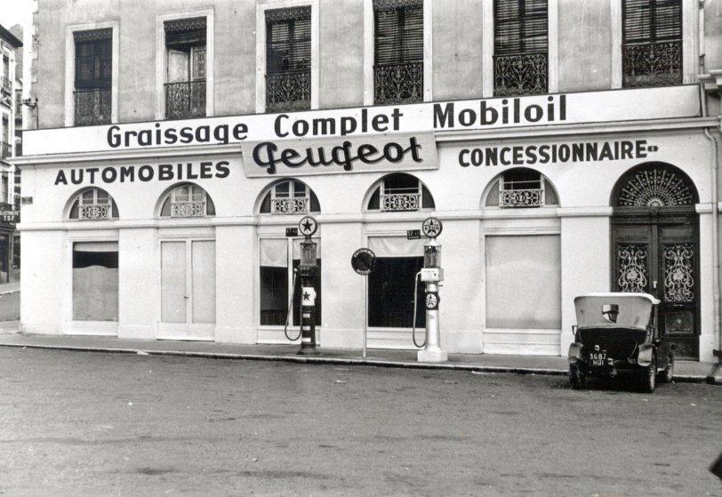 Peugeot Dealer: 1925