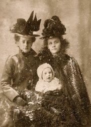 George, Betty and Matt: 1903