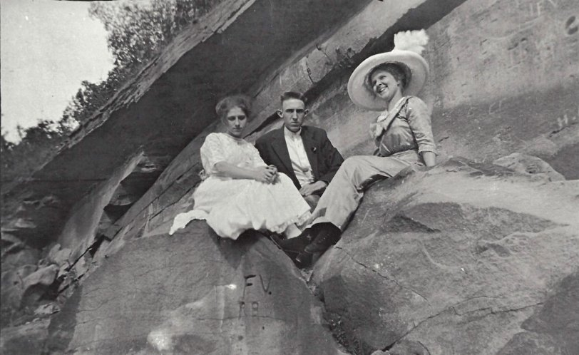 Rock Climbing 100 Years Ago | Shorpy | Vintage Photography
