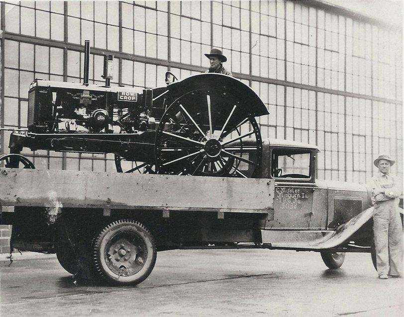 Grandpa's New Tractor: 1936