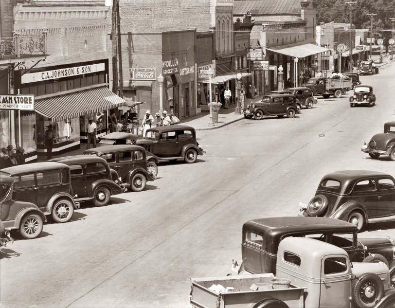 Greensboro, Alabama: 1936