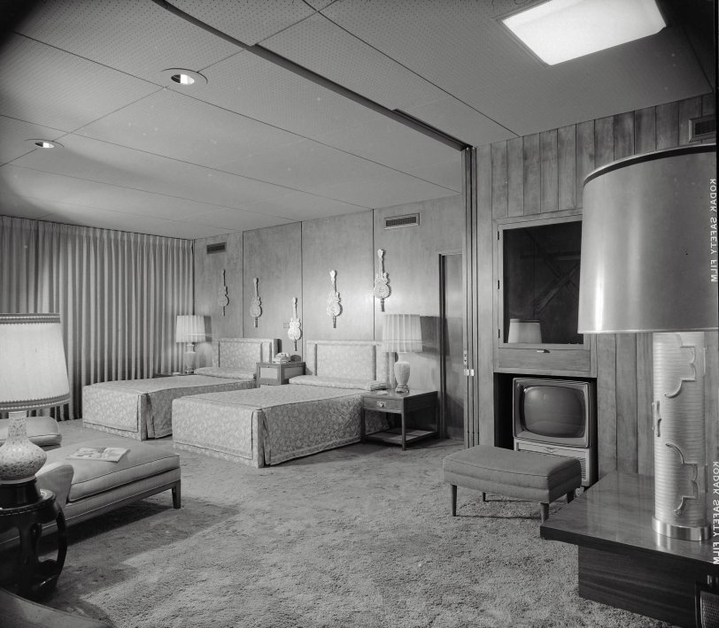 Bedroom Beautiful: 1956