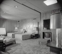 Bedroom Beautiful: 1956
