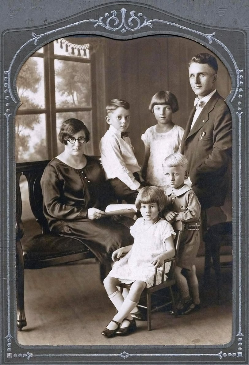 Herman Bohn Family: 1928