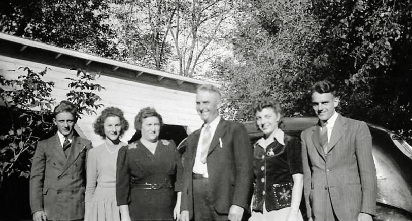Herman Bohn Family: 1942