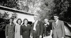 Herman Bohn Family: 1942