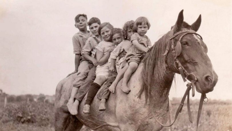 Six on a Horse: 1920s