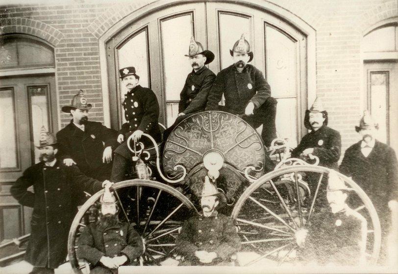 Hose Wagon #6: 1890