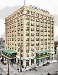 Hotel Seminole (Colorized): 1910
