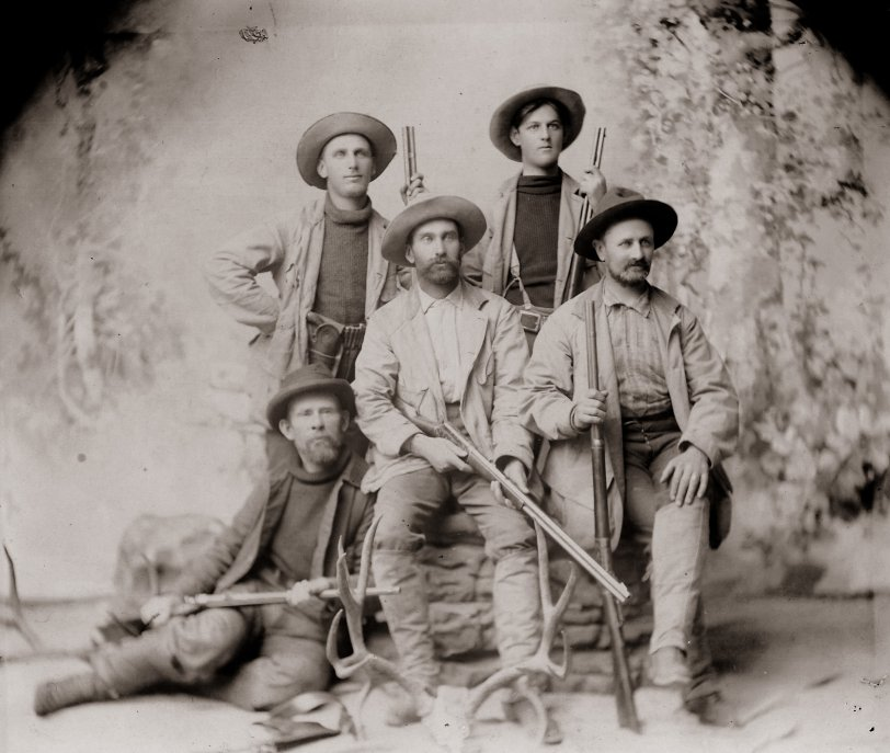 Hunters in Colorado: Late 1800s