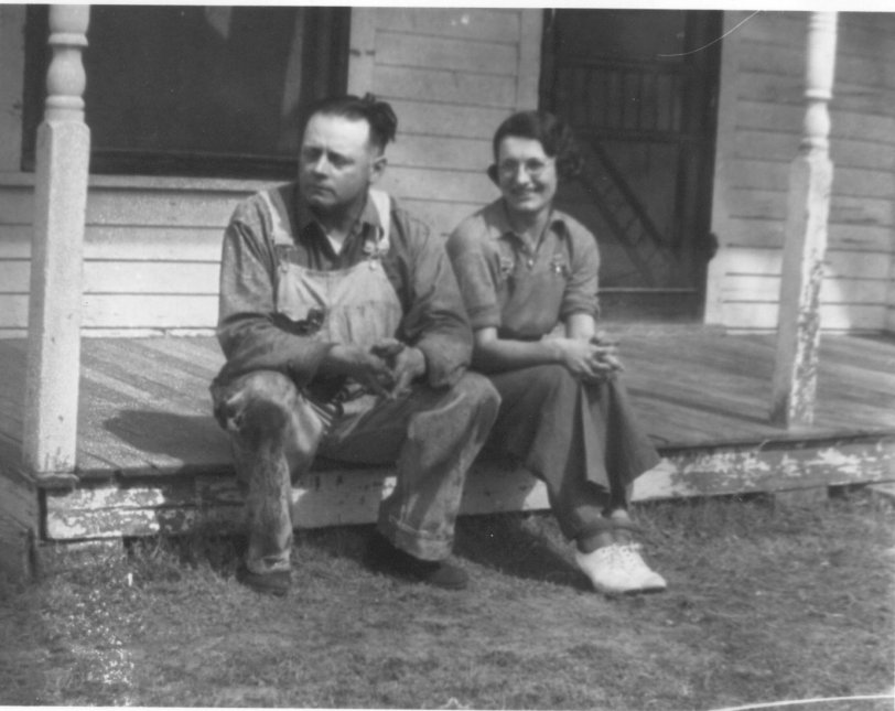 Man and Wife at Unknown House
