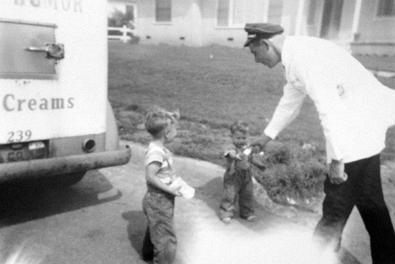 The Ice Cream Man: 1950