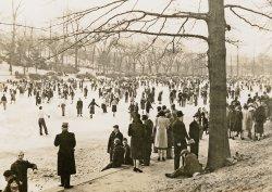 Ice Skating 1940's