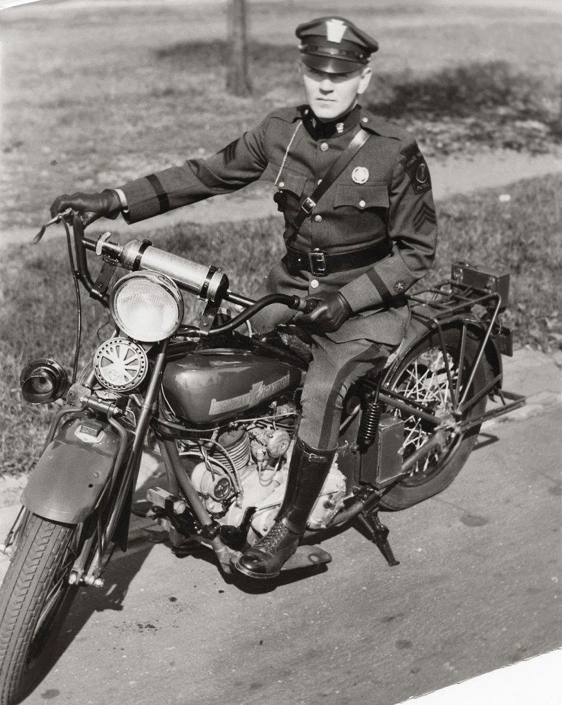 Highway Patrol: 1932