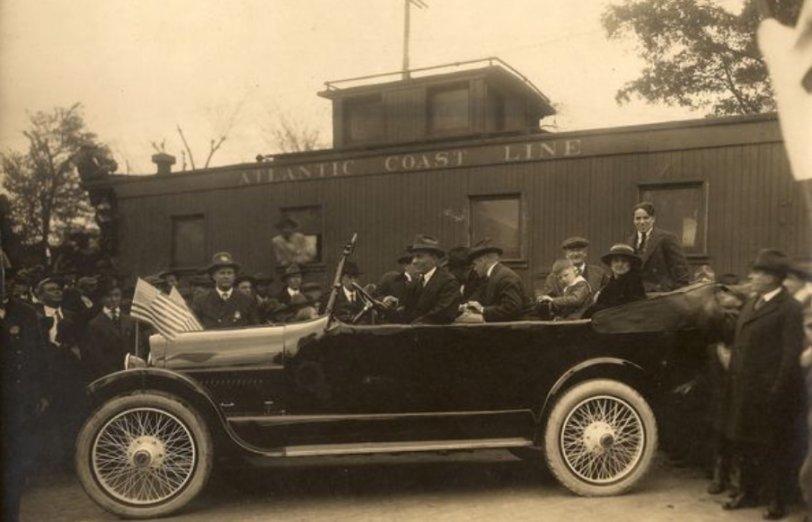 Liberty Bond Tour: 1918