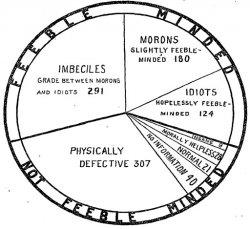 Imbeciles, Morons, Idiots: 1913