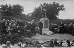 Unveiling of the Canonbie War Memorial: 1921