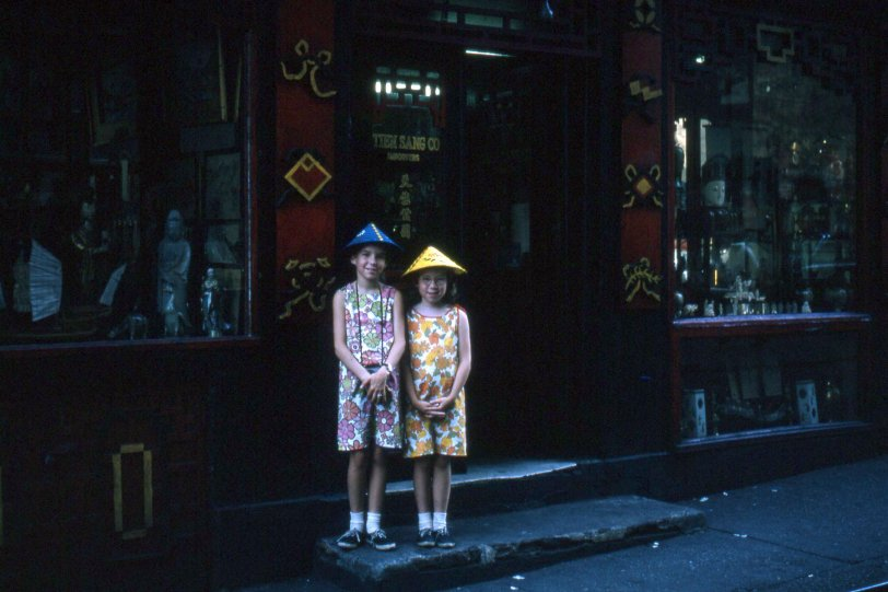 New York Chinatown, 1964