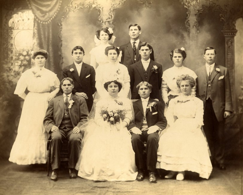Brockton Wedding: 1910