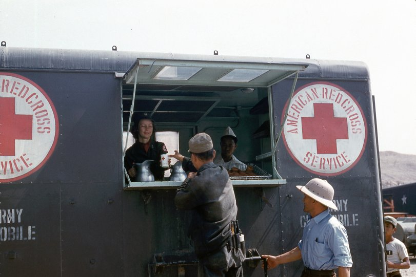 Red Cross Coffee in Korea
