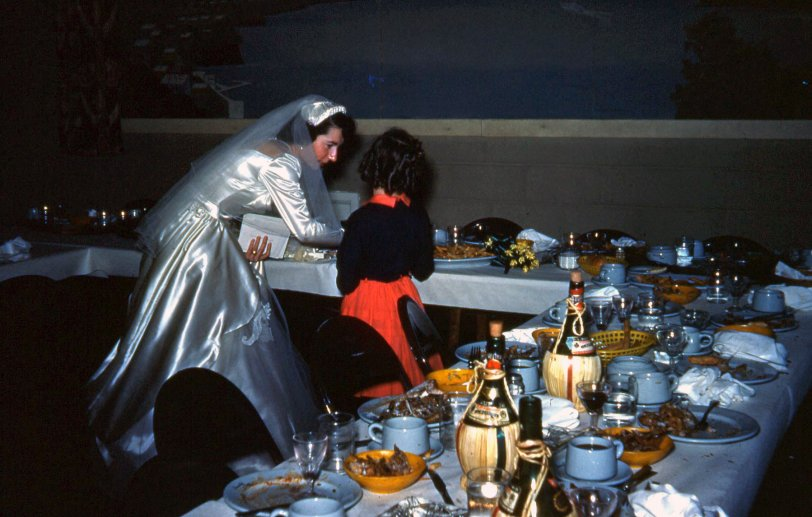 Wedding Aftermath 1954