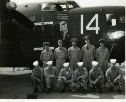 Airplane # 14 and crew