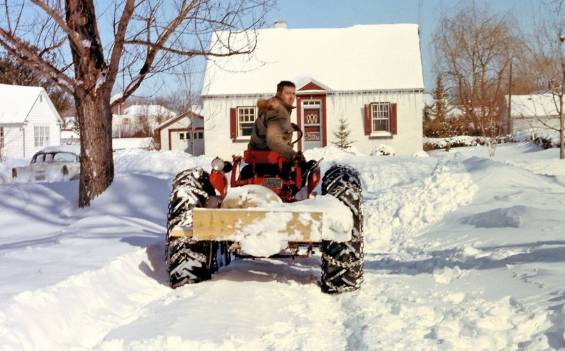 Plowing Bedford, Late 1950s